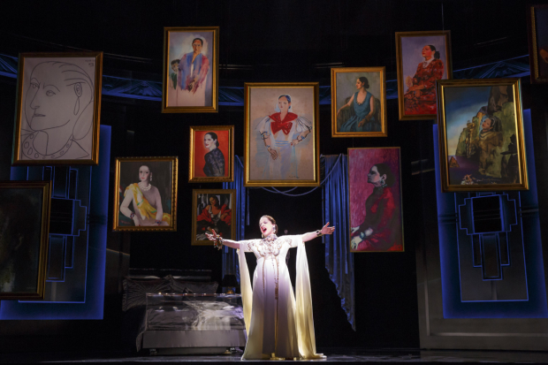 <p>Patti LuPone takes center stage in a scene from <em>War Paint</em>.</p><br />(© Joan Marcus)