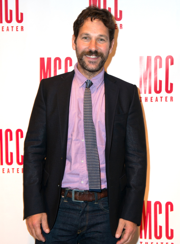 <p>Paul Rudd returned to the stage for a one-night reading of Neil LaBute&#39&#x3B;s latest play.</p><br />(© Allison Stock)