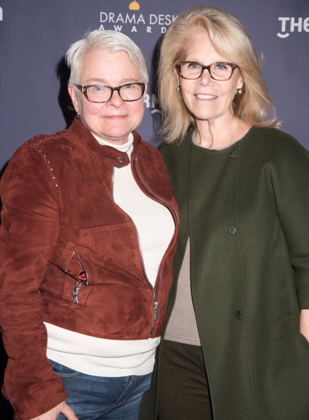 <p>Paula Vogel and Daryl Roth, nominees for <em>Indecent</em>.</p><br />(© Monica Simoes)