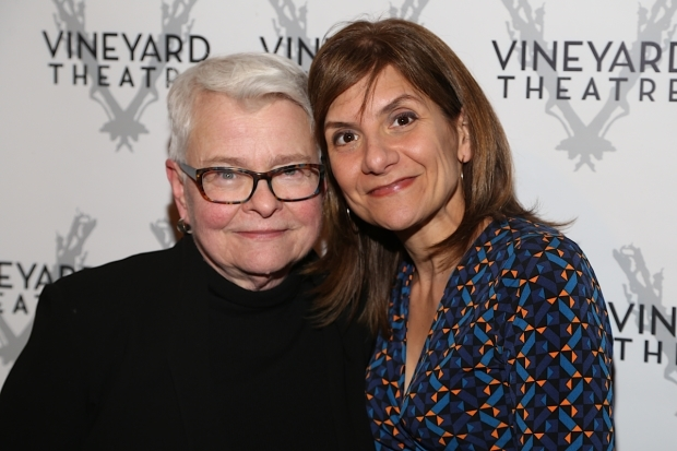 <p>Paula Vogel and Gina Gionfriddo were both in attendance.</p><br />(© Tricia Baron)