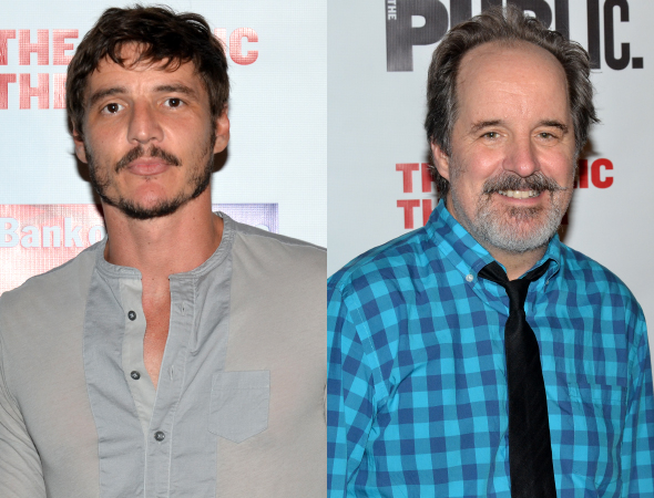 <p>Pedro Pascal and John Panko play Don John and Dogberry, respectively.</p><br />(© David Gordon)