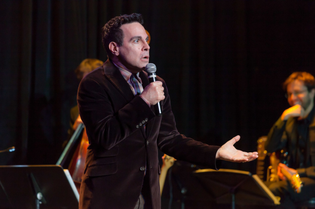 <p>Perennial favorite Mario Cantone was lively as always.</p><br />(© Seth Walters)