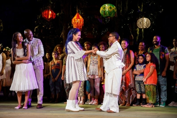 <p>Performances end tonight, August 5.</p><br />(© Joan Marcus)