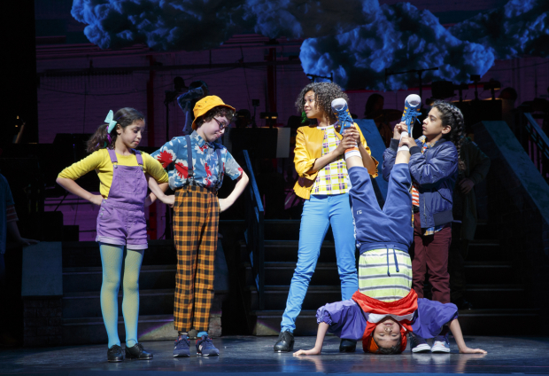 <p>Performances of <em>Really Rosie</em> continue through August 5.</p><br />(© Joan Marcus)
