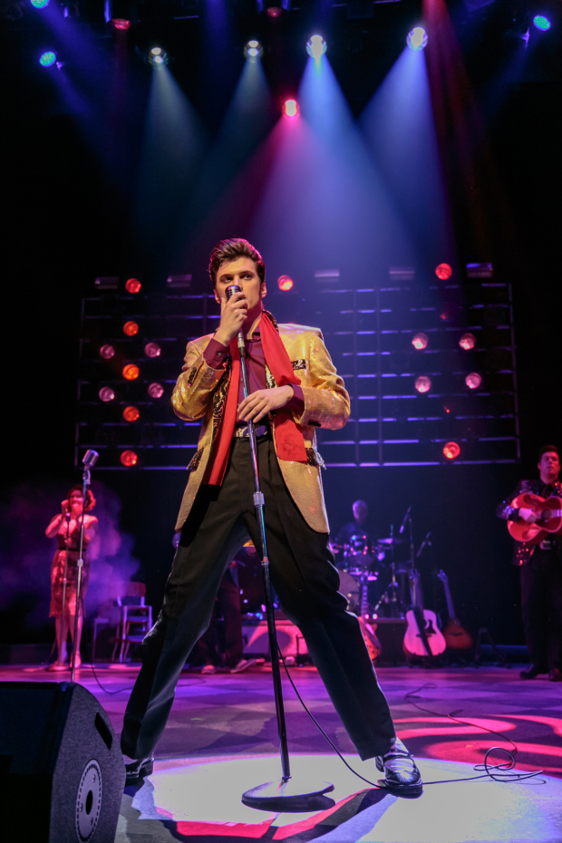 <p>Performances of <em>Million Dollar Quartet</em> begin tonight.</p><br />(© Jerry Dalia)
