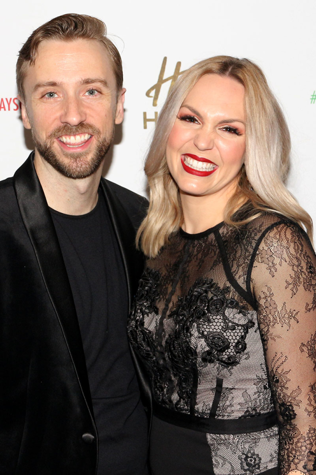 <p>Peter and Evynne Hollens make their Broadway debuts.</p><br />(© David Gordon)