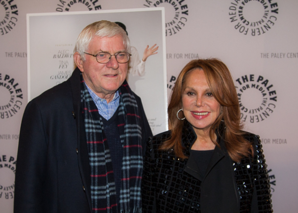 <p>Phil Donahue and Marlo Thomas.</p><br />(© Seth Walters)