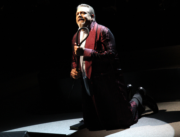 <p>Philip Quast (as Judge Turpin) performs &quot&#x3B;Johanna.&quot&#x3B;</p><br />(© David Gordon)