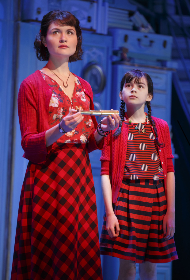 <p>Phillipa Soo and Savvy Crawford share a scene.</p><br />(© Joan Marcus)