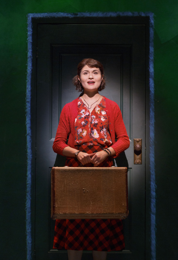 <p>Phillipa Soo stars in the title role of <em>Amélie</em>.</p><br />(© Joan Marcus)