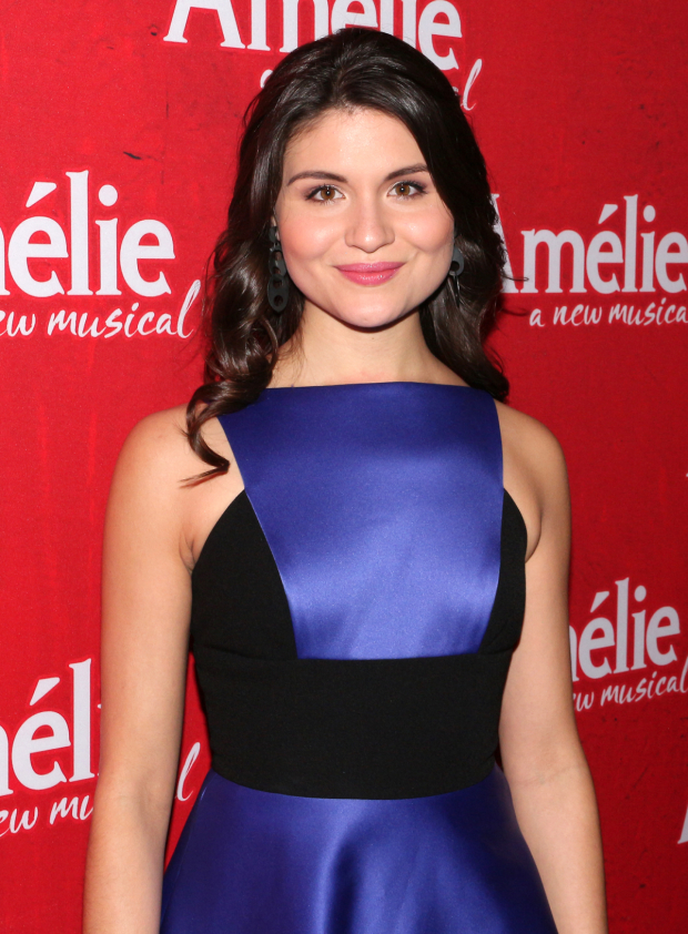 <p>Phillipa Soo takes on the title role in this new musical.</p><br />(© David Gordon)