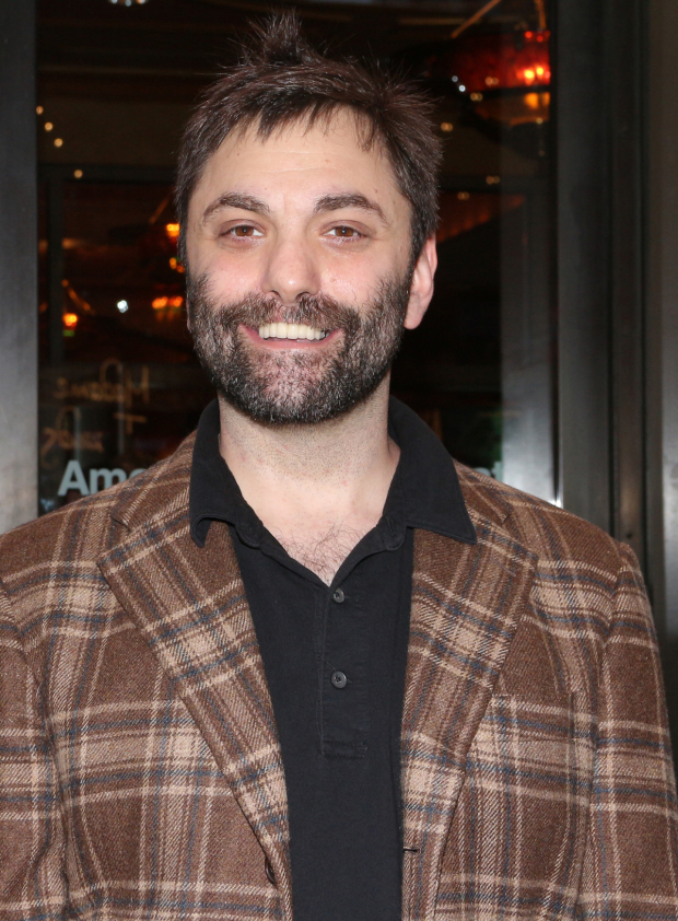 <p>Playwright Christopher Shinn is on hand for the performance.</p><br />(© David Gordon)