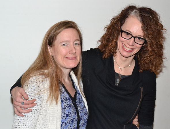 <p>Playwright Sarah Ruhl poses alongside her director and frequent collaborator, Rebecca Taichman.</p><br />(© David Gordon)