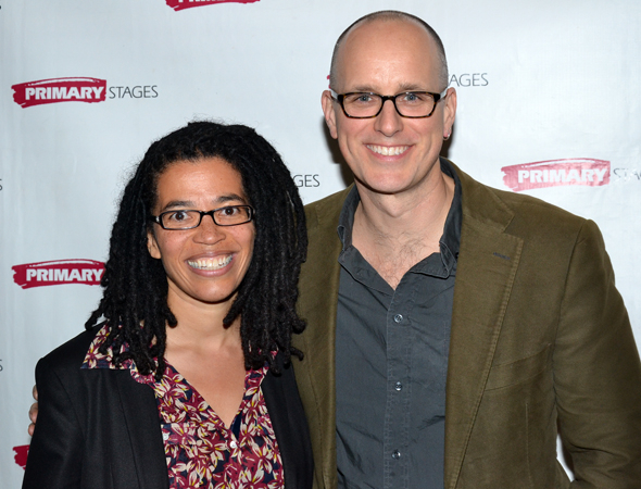 <p>Playwright Tanya Barfield and actor Kelly AuCoin collaborated on the Primary Stages production of Barfield&#39&#x3B;s play <em>The Call</em> earlier this year.</p><br />(© David Gordon)