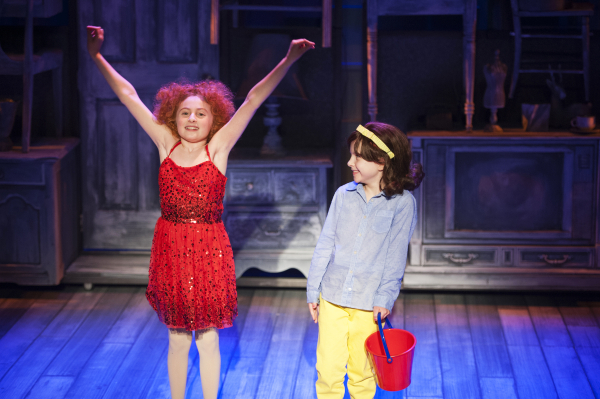 <p>Presley Ryan as Little Cee Cee and Brooklyn Shuck as Little Bertie.</p><br />(© Margot I. Schulman)