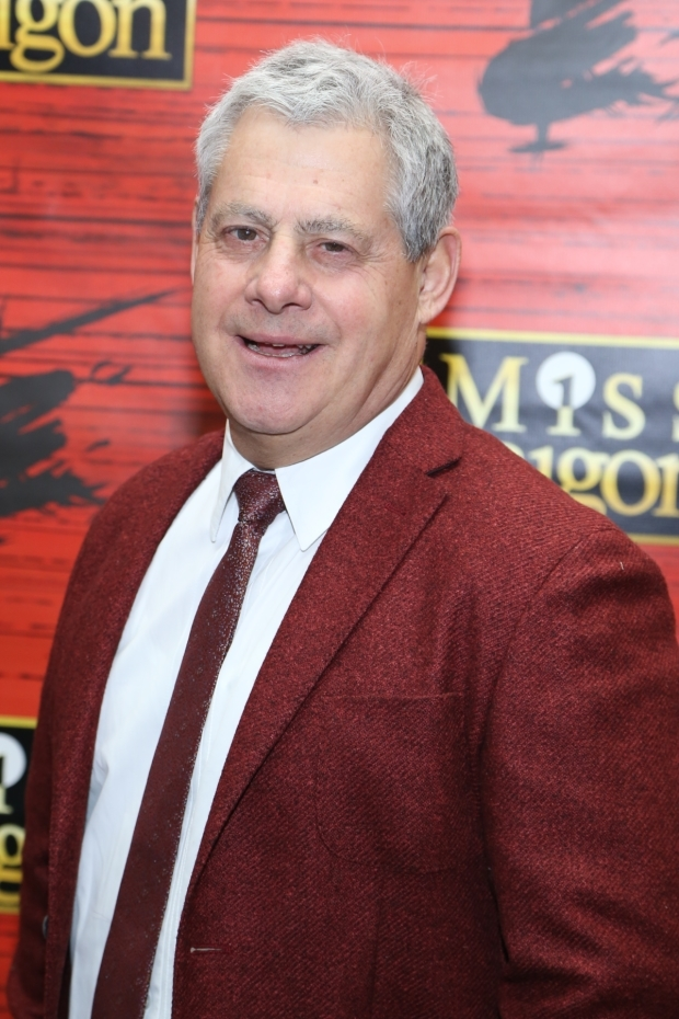 <p>Producer Cameron Mackintosh was beaming with pride.</p><br />(© Tricia Baron)
