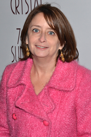 <p>Rachel Dratch smiles for the cameras.</p><br />(© David Gordon)