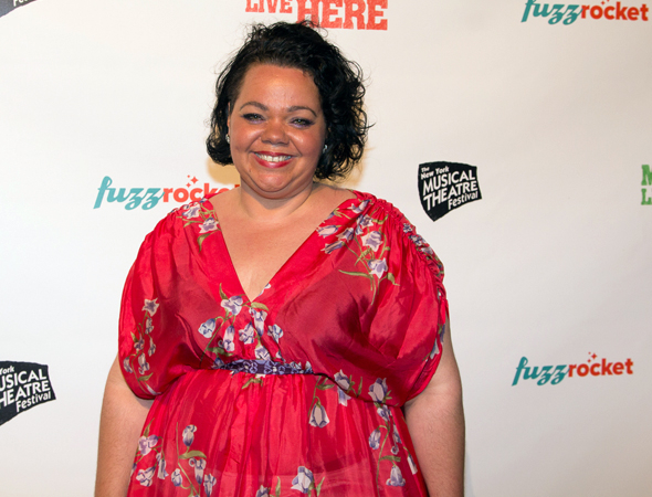 <p>Rachel Dunham wrote and stars in the NYMF musical <em>Oprahfication</em>.</p><br />(© Seth Walters)