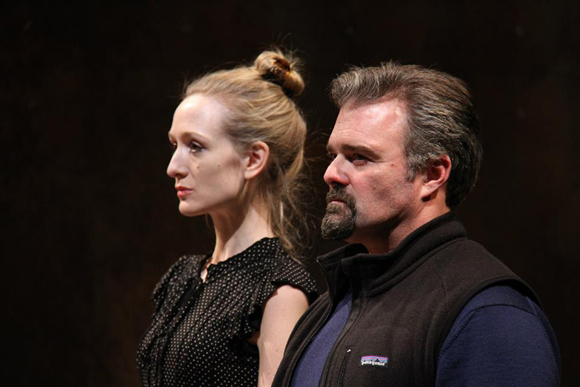 <p>Rachel Pickup and Graham Winton play Goneril and Albany in Theatre for a New Audience&#39&#x3B;s <em>King Lear</em>.</p><br />(© Gerry Goodstein)