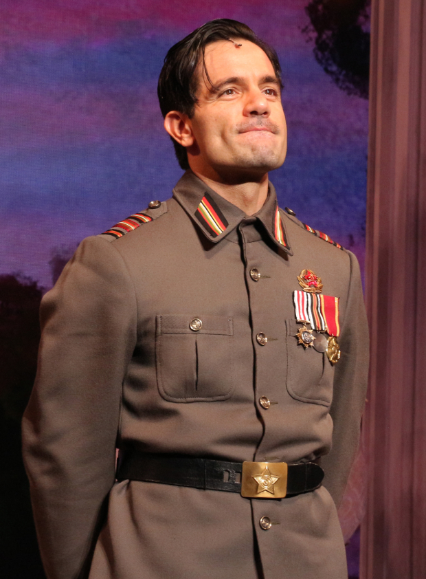 <p>Ramin Karimloo stars as Gleb.</p><br />(© David Gordon)
