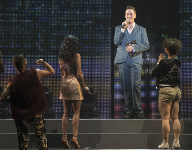 <p>Randy Rainbow made a special appearance.</p><br />(© Jonathan Tichler)