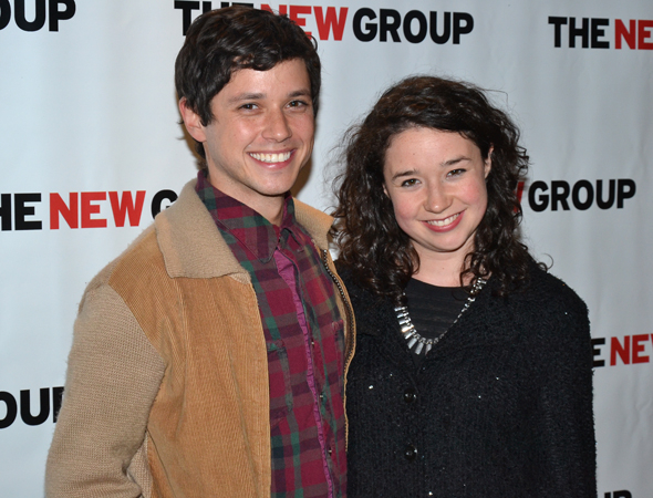 <p>Raviv Ullman and Sarah Steele played brother and sister in Erika Sheffer&#39&#x3B;s <em>Russian Transport</em> for The New Group in 2012.</p><br />(© David Gordon)