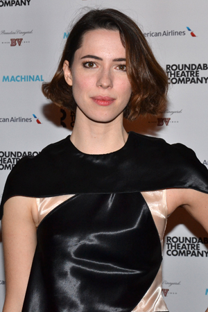 <p>Rebecca Hall makes her Broadway debut in <em>Machinal</em> as a character simply known as &quot&#x3B;Young Woman.&quot&#x3B;</p><br />(© David Gordon)