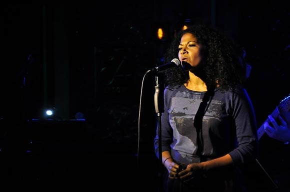 <p>Rebecca Naomi Jones performs &quot&#x3B;Prayer&quot&#x3B; from <em>Fallout</em>.</p><br />(© Matt Tolbert)