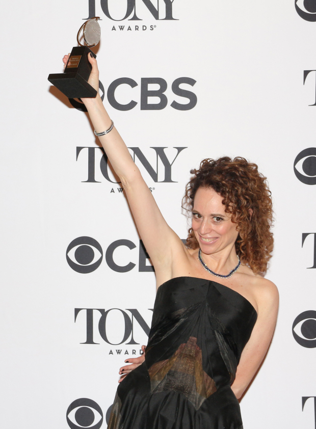<p>Rebecca Taichman, Best Director of a Play winner for <em>Indecent</em>.</p><br />(© David Gordon)