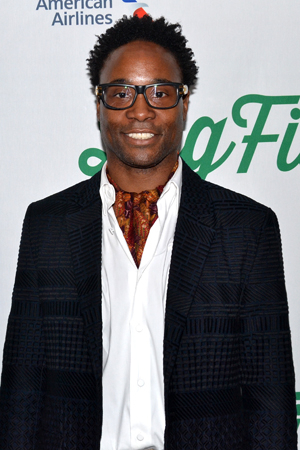 <p>Recent Tony Award winner Billy Porter spends his off-night from Broadway&#39&#x3B;s <em>Kinky Boots</em> at the opening of <em>Big Fish</em>.</p><br />(© David Gordon)