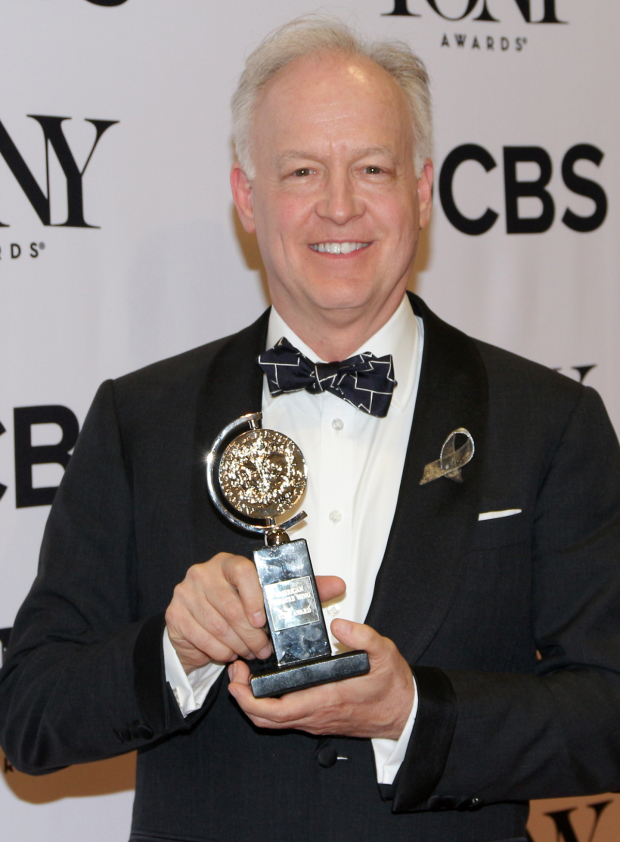 <p>Reed Birney, Best Actor in a Featured Role in a Play winner for <em>The Humans</em>.</p><br />(© David Gordon)