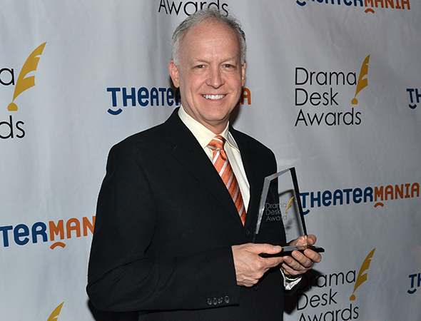 <p>Reed Birney — Outstanding Featured Actor in a Play winner for <em>Casa Valentina</em>.</p><br />(© David Gordon)