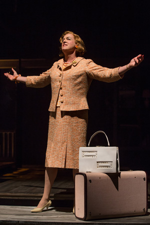 <p>Reed Birney plays rabble-rouser Charlotte in <em>Casa Valentina</em>. </p><br />(© Joan Marcus)