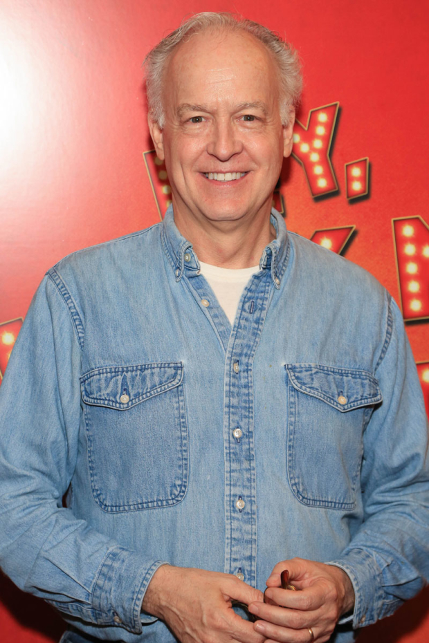 <p>Reed Birney stopped for a photo.</p><br />(© Tricia Baron)