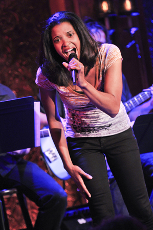 <p>Renee Elise Goldsberry (<em>I&#39&#x3B;m Getting My Act Together and Taking It on the Road</em>) also took her first turn on the Williamstown stage last summer in <em>Animal Crackers</em>. </p><br />(© Jenny Anderson)