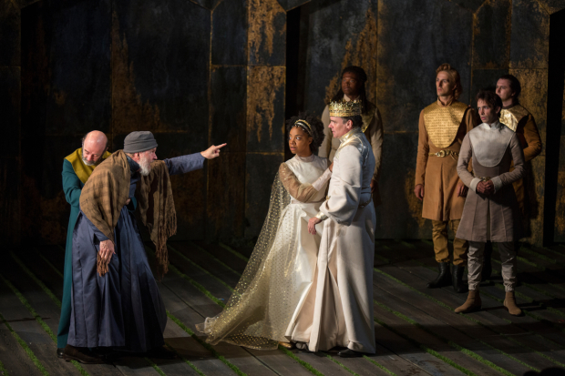 <p><em>Richard II</em> is directed by Erica Schmidt.</p><br />(© Jim Cox)