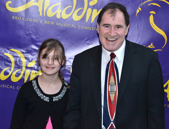 <p>Richard Kind brought along his daughter, Samantha.</p><br />(© David Gordon)