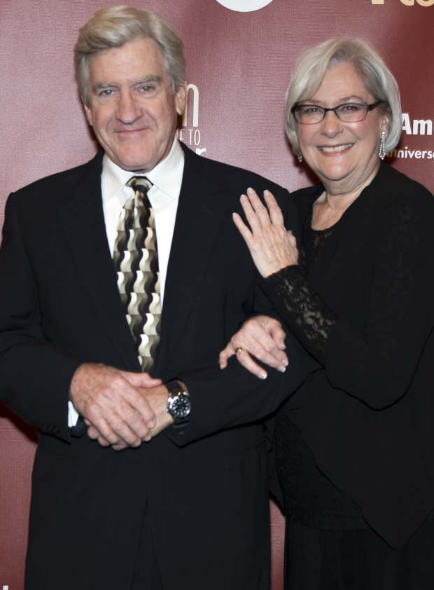 <p>Richard Poe and Linda Stephens play onstage couple Mr. and Mrs. Stanley.</p><br />(© Allison Stock)