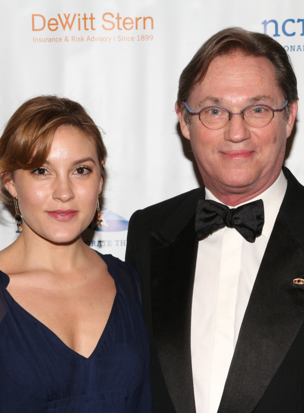 <p>Richard Thomas (seen here with his daughter, Kendra) is the honorary chair of the NCTF board of directors.</p><br />(© David Gordon)