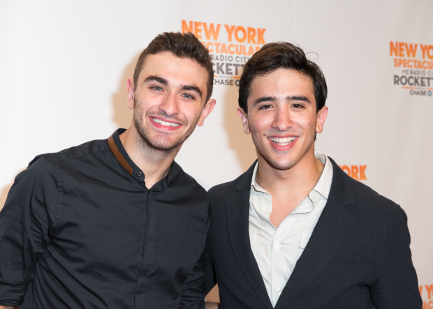 <p>Ricky Ubeda and Jess LeProtto will appear together in the new Broadway revival of <em>Cats</em>.</p><br />(© Allison Stock)