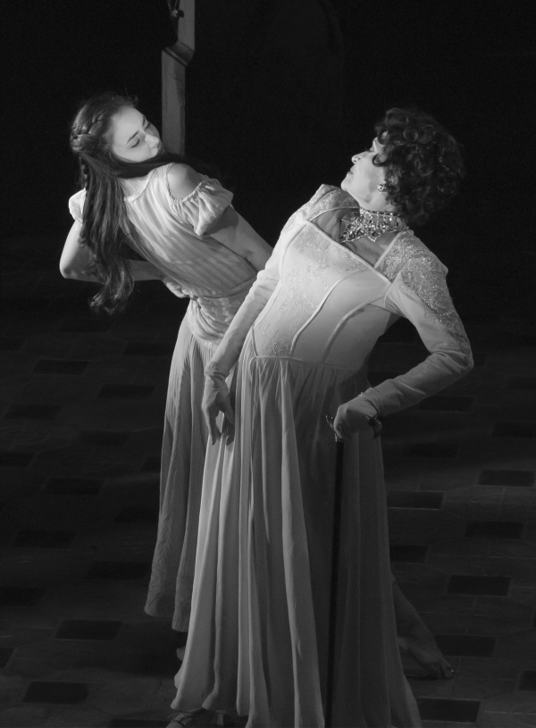 <p>Rivera dances with Michelle Veintimilla, who plays her younger self.</p><br />(© David Gordon)