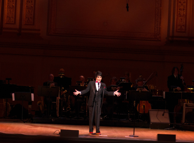 <p>Rivera wows the crowd at Carnegie Hall.</p><br />(© Allison Stock)