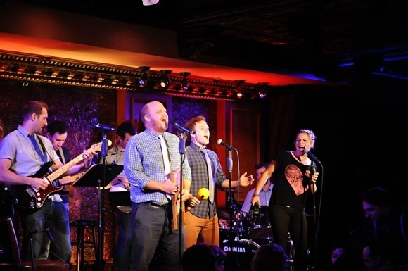 <p>Rob Rokicki, Mike Rosengarten, Jason SweetTooth Williams, Jeremy Morse and 