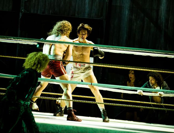 <p>Rocky knows his way around a fight.</p><br />(© Matthew Murphy)