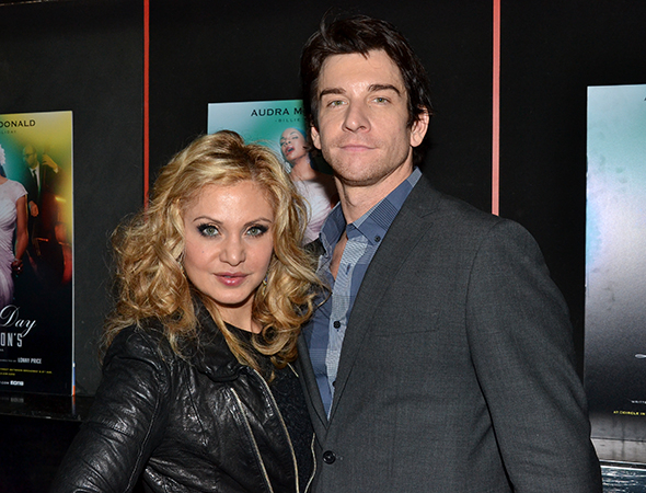 <p><em>Rocky</em> star Andy Karl attended the show with his wife, Orfeh.</p><br />(© David Gordon)