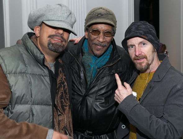 <p>Roger Guenveur Smith, Reg E. Cathey, and Denis O&#39&#x3B;Hare attend the opening night of Under the Radar at the Public Theater.</p><br />(© Simon Luethi)