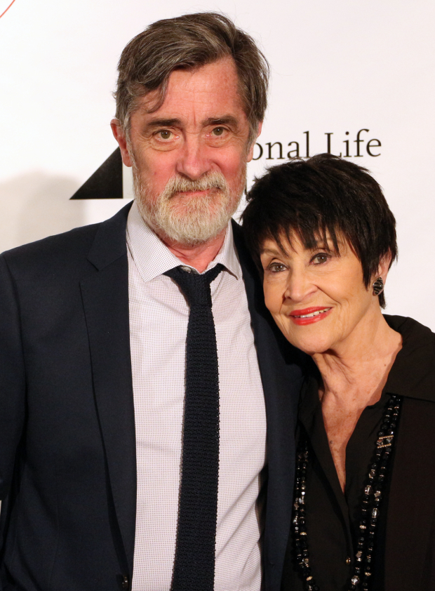 <p>Roger Rees and Chita Rivera — <em>The Visit</em></p><br />(© David Gordon)
