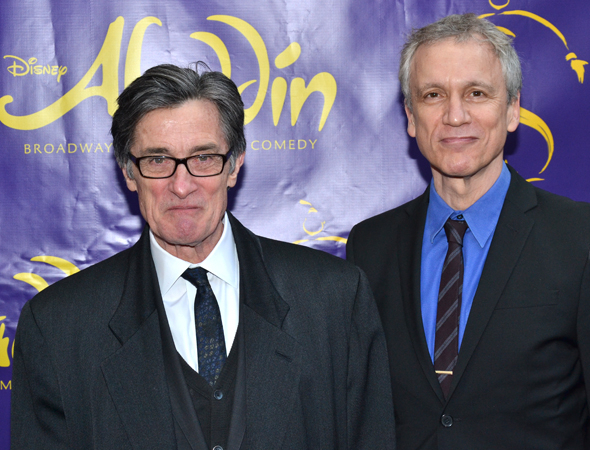 <p>Roger Rees and Rick Elice cocreated <em>Peter and the Starcatcher</em> for Disney Theatricals.</p><br />(© David Gordon)