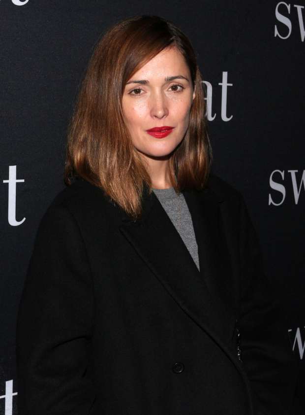 <p>Rose Byrne walks the red carpet before the show.</p><br />(© David Gordon)