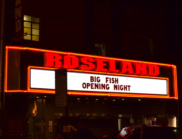 <p>Roseland welcomes the <em>Big Fish</em> opening night after-party.</p><br />(© David Gordon)